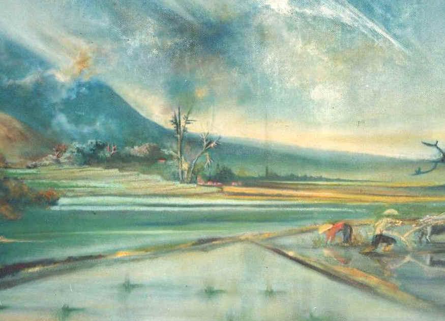 lukisan pemandangan 2